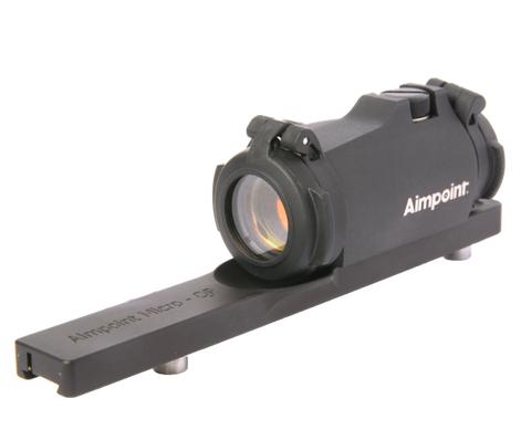 Jokern: Aimpoint Micro H-2 rödpunktsikte med Leupold fäste