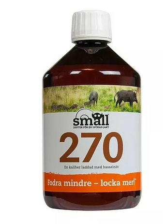 Smäll Lockmedel 270 - Hasselnöt 0,5L